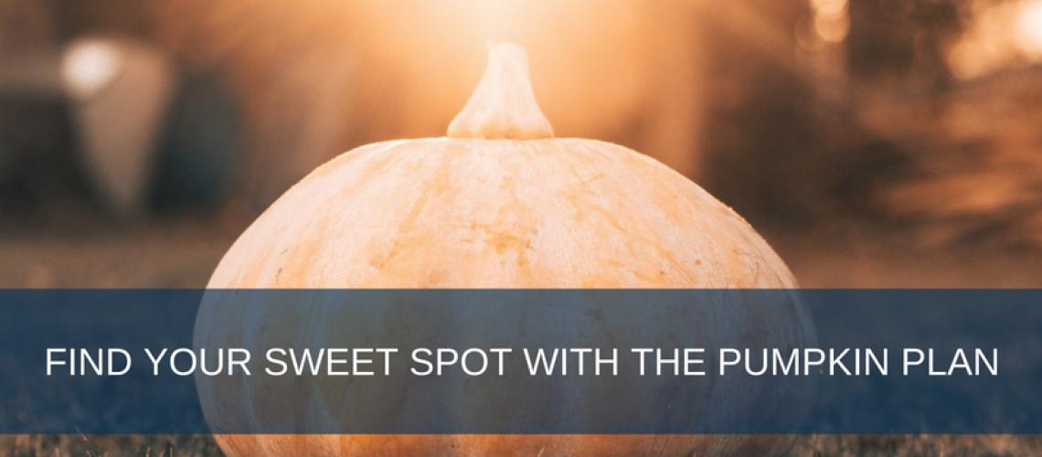 Sweet Spot - Pumpkin Plan